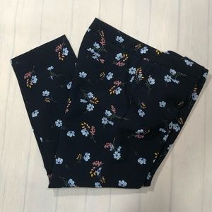 Cynthia Rowley Navy Blue Floral Forget Me …